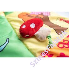 Nagyméretű játszószőnyeg babáknak