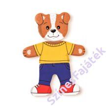 Öltöztetős  játék - Kutya