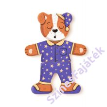 Fa öltöztetős játék - Kutya - 90016