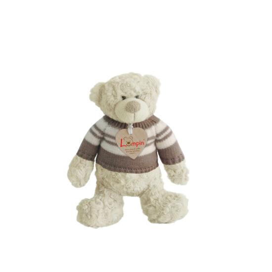 Spencer mackó pulóverben