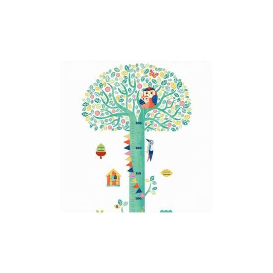 Magasságmérő falmatrica - Virágzó fa