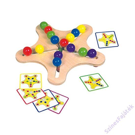 készségfejlesztő csillag játék