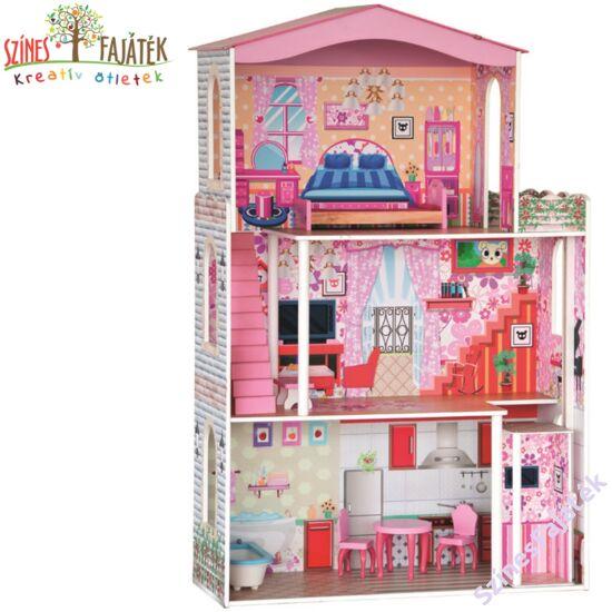 babaház barbie babáknak is