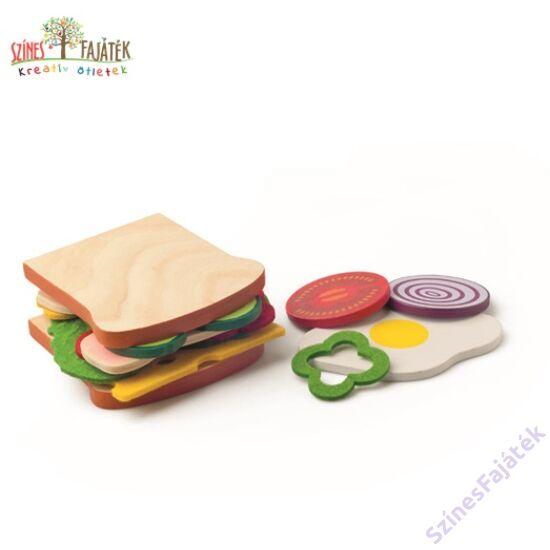 fajáték szendvics
