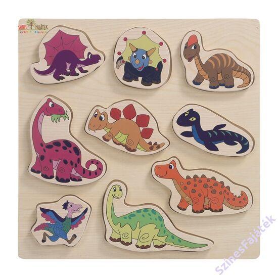 dinoszauruszos puzzle