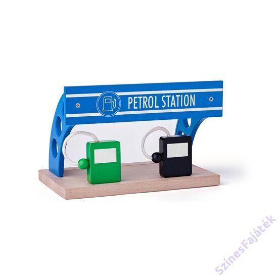 benzinkút fa vonat kiegészítő