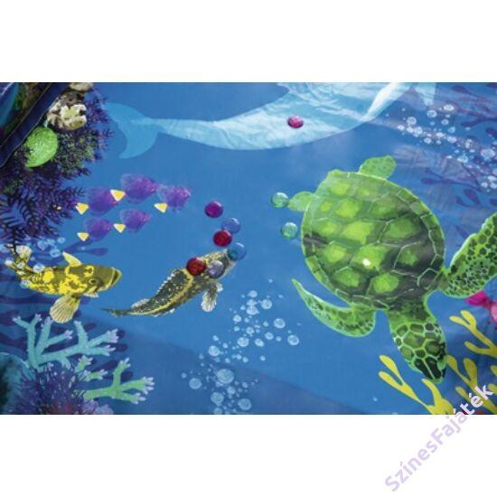 Bestway Undesea Adventure felfújható medence 262 cm  x 175  x 51 cm, + csomag a 3D-s vízalatti élményhez