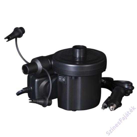 Bestway elektromos pumpa, AC 230V - autós DC 12V