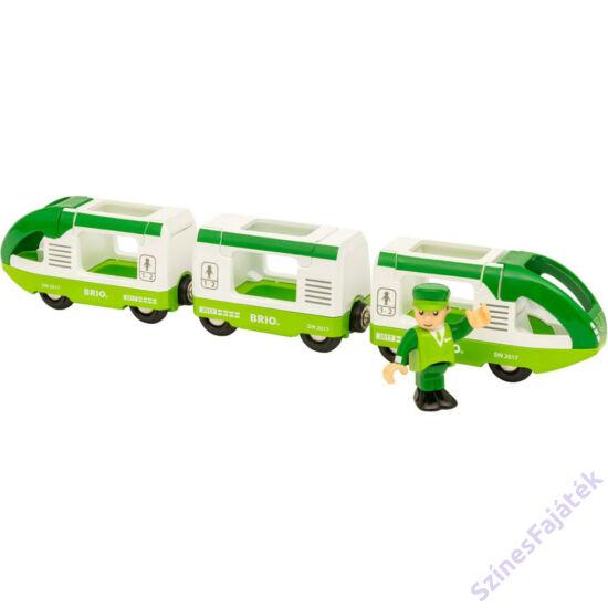 Brio zöld utasszállító vonat