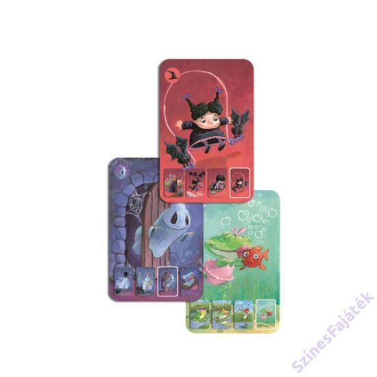 Djeco Mini family - kártyajáték gyerekeknek