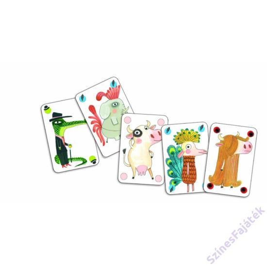Djeco Pipolo kártyajáték