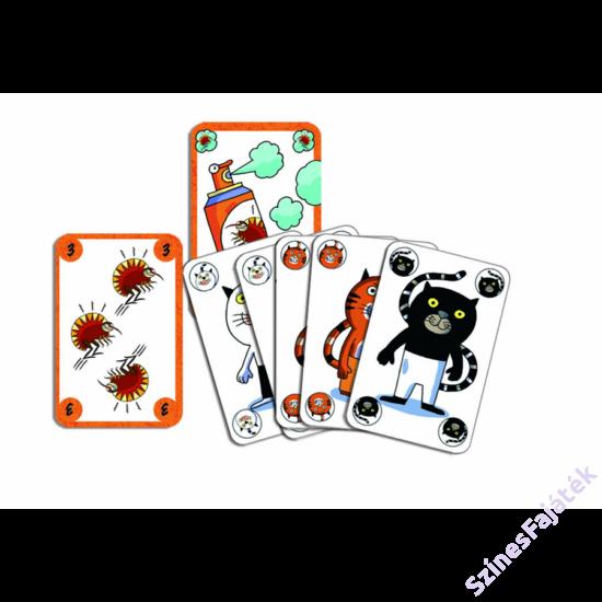 Djeco Sakapuss kártyajáték