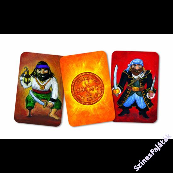 Djeco Piratatak kártyajáték