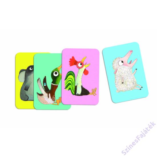 Djeco Batameuh  kártyajáték