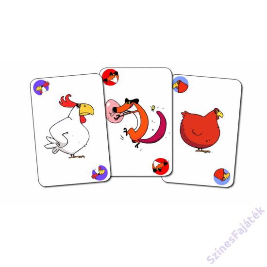 Djeco Piou Piou kártyajáték