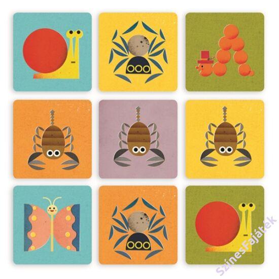 Djeco Beasties - kártyajáték gyerekeknek