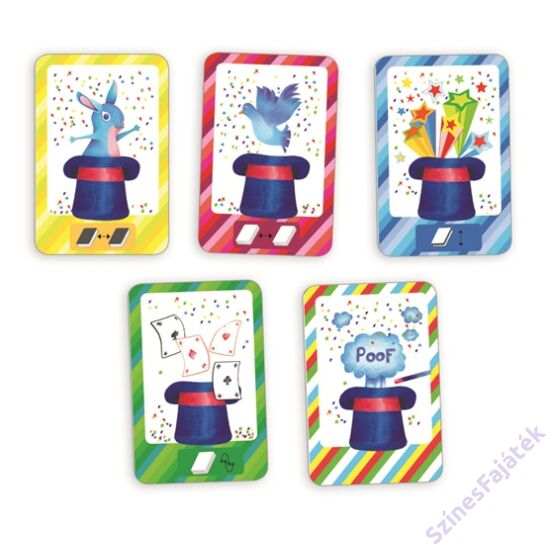 Djeco Recto verso - kártyajáték gyerekeknek