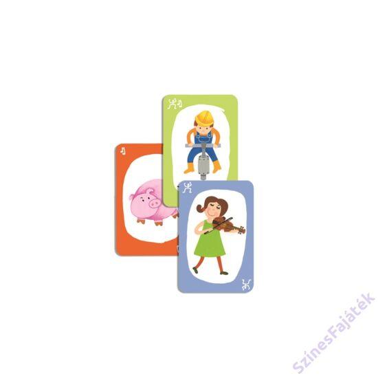 Djeco Pouet! - kártyajáték gyerekeknek