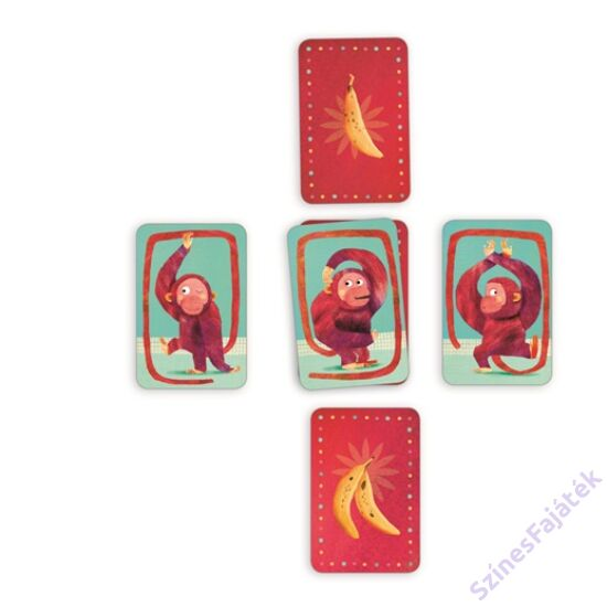 Djeco Bananas - kártyajáték gyerekeknek
