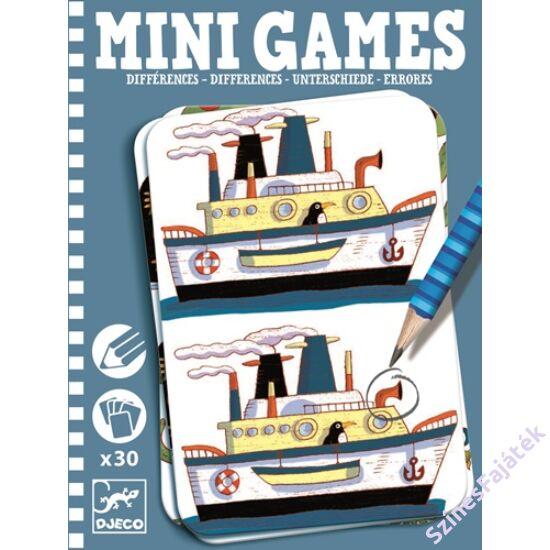 Djeco Különbség kereső - Remi- Mini games