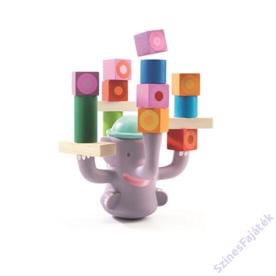 Djeco Egyensúlyozós játék építőkockákkal