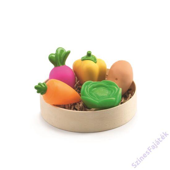 Djeco Zöldségek: 5 db