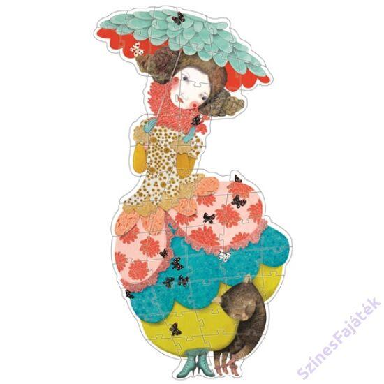 Djeco Charline kisasszony - óriás kirakó