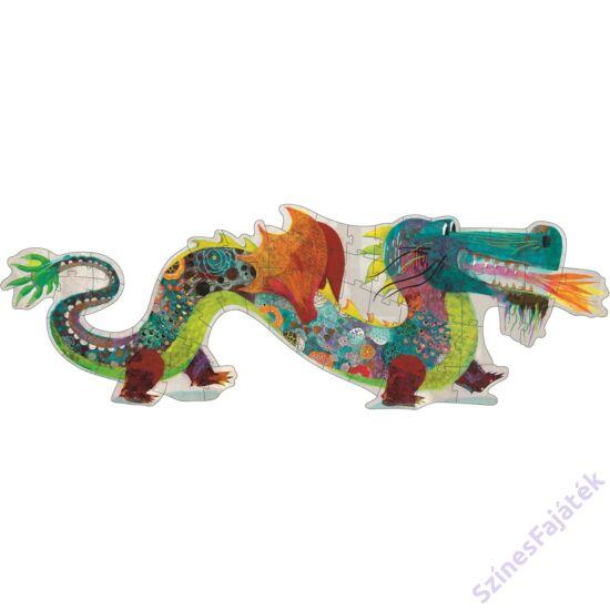 Djeco Leó a sárkány - óriás kirakó