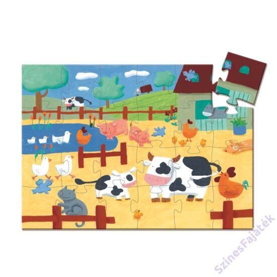 Djeco Tehén a farmon - kirakó játék