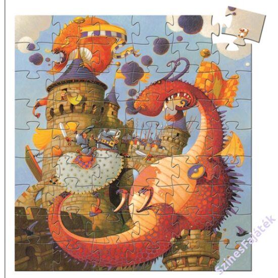 Djeco A vár és a sárkány - kirakó játék