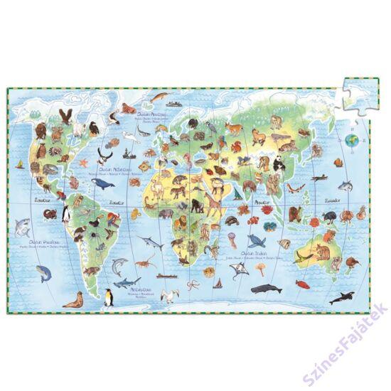 Djeco A világ állatai - kirakó játék