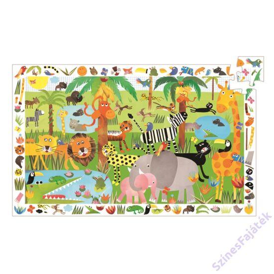 Djeco Dzsungel - böngészős kirakó játék