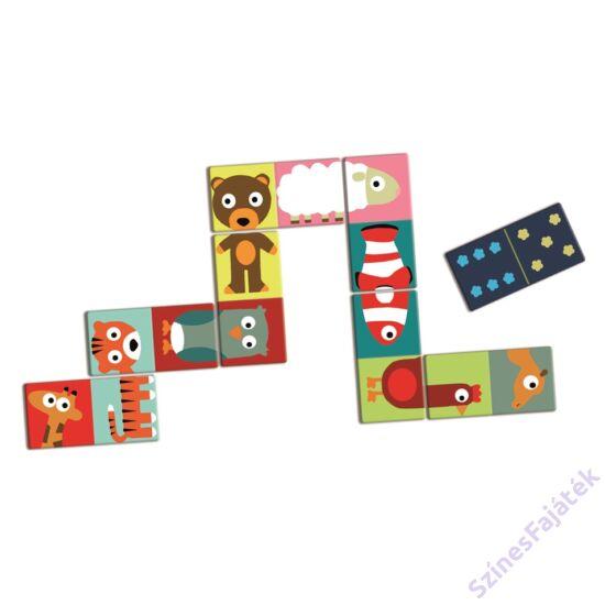 Djeco Állat kirakós dominó - fejlesztő játék