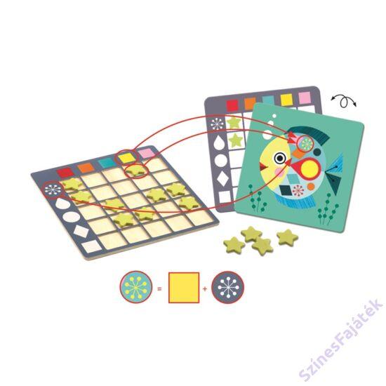 Djeco Colorformix - fajáték