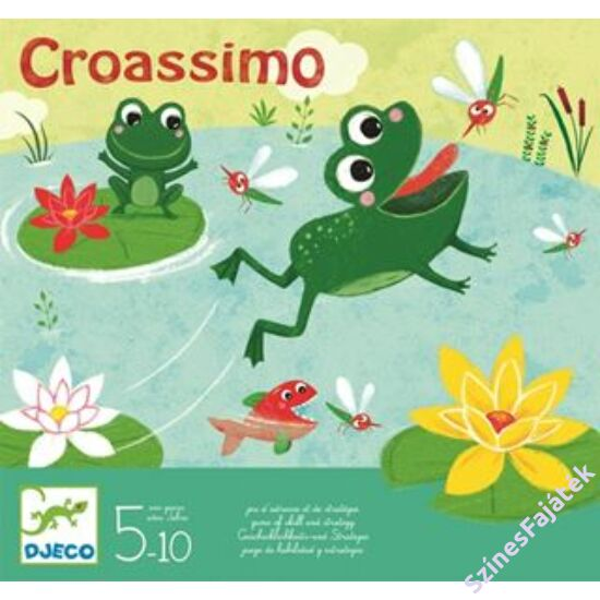 Djeco Croassimo - békás társasjáték