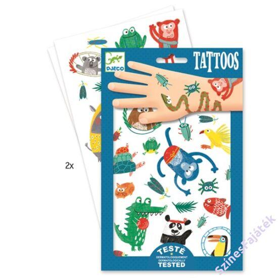djeco gyerek tetováló szett