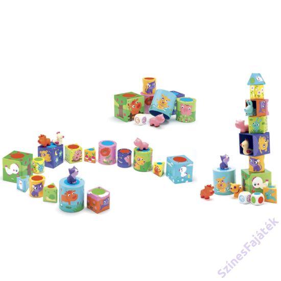 Djeco 3 társasjáték egy dobozban - Okoska