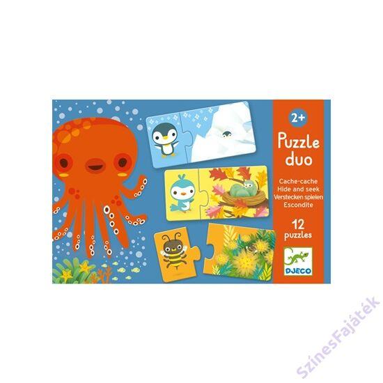 baba puzzle - párosító puzzle - Bújócska