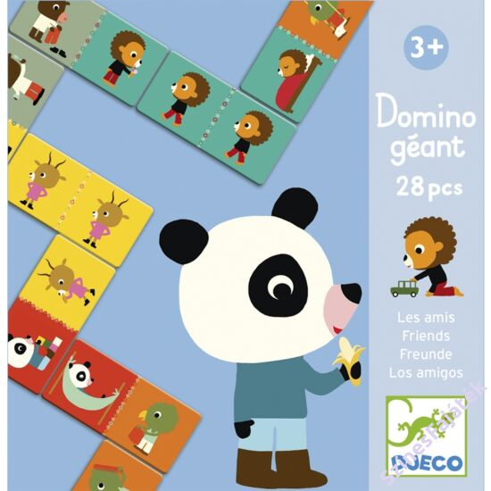 Djeco dominó játék - Barátok_DJ08118
