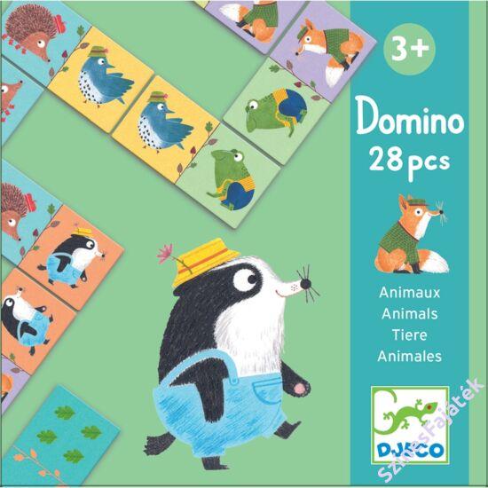 Djeco dominó játék - Állatok _DJ08115