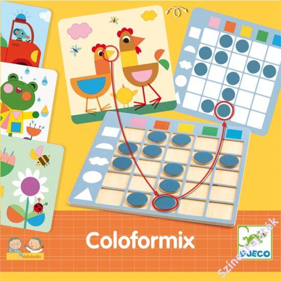 Színek és formák fejlesztő játék - Djeco - Coloformix