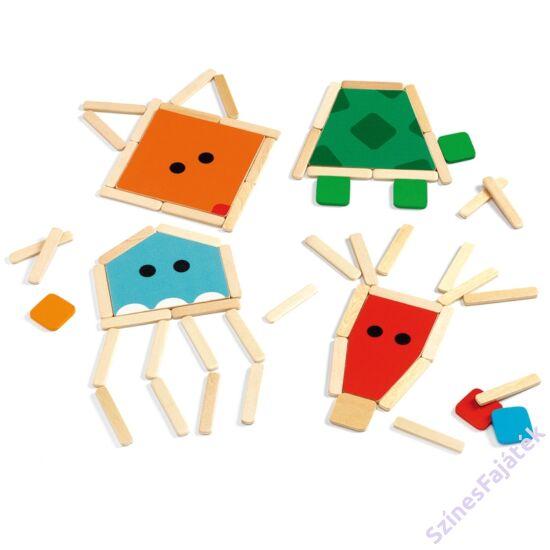 Djeco képkirakó - Stick  Basic