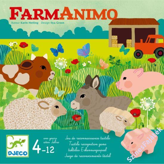 Djeco kooperatív társasjáték - Állatok a farmon