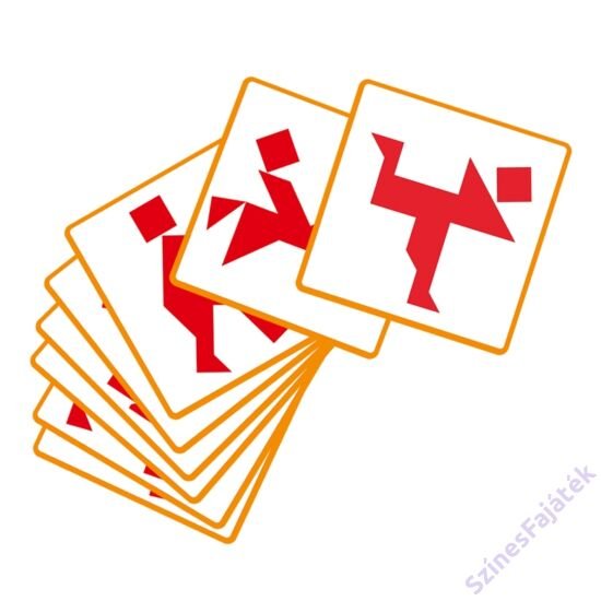 Djeco logaikai képkirakó játék - Tangram