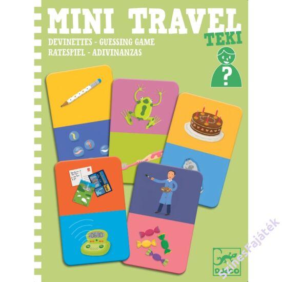 Djeco mini játék - Kérdezz-felelek  - Teki
