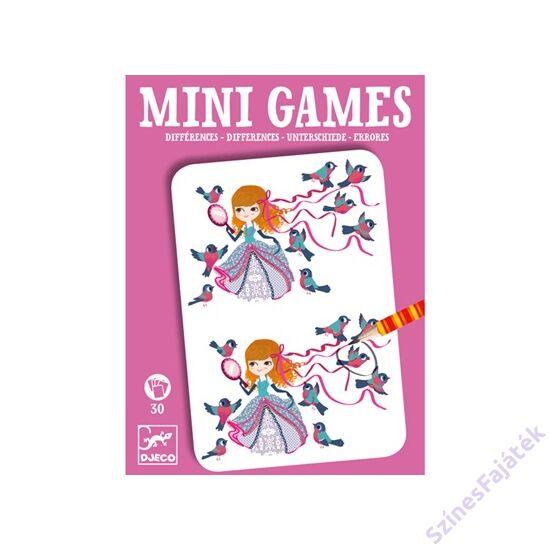 Djeco mini logikai játék - Különbségek