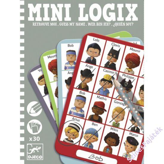 Djeco mini logikai játék - Mi a nevem?