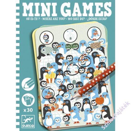 Djeco mini logikai játék - Te meg hol vagy?