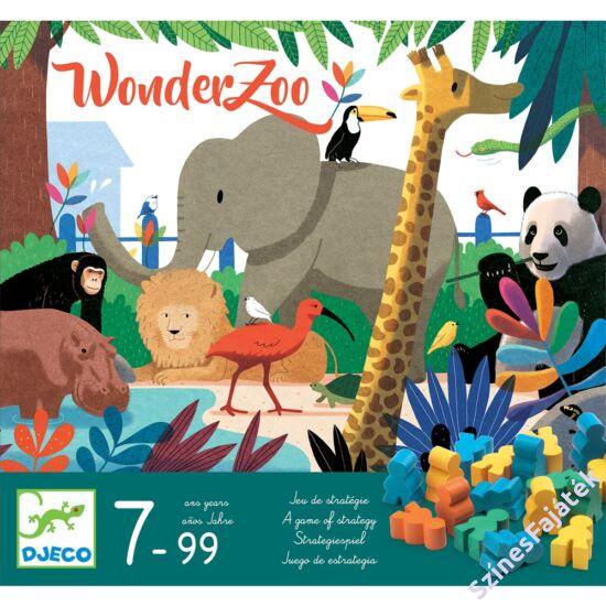 Djeco stratégiai társasjáték - Csoda állatkert