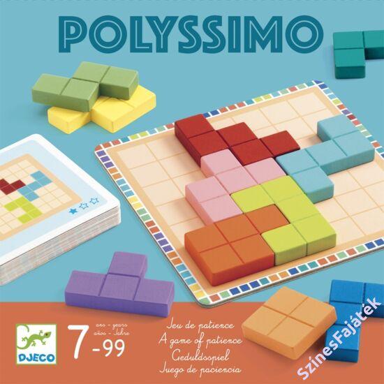 Djeco társasjáték - Tetris négyzetkirakó - Polyssimo